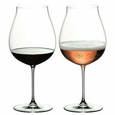 Riedel Veritas New World Pinot Noir Nebbiolo Rose Champagne Wine Glasses