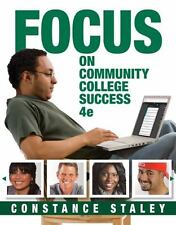 Cengage Learning's FOCUS: FOCUS on Community College Success by Constance...