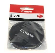CANON E77II E-77II FOR EF LENS LENS CAP MADE BY CANON GENUINE NEW