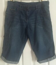 George Denim Plus Size Shorts for Women