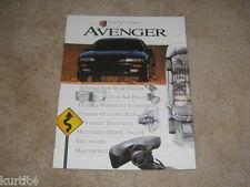 1995 Dodge Avenger ES Highline small sales brochure dealer catalog literature