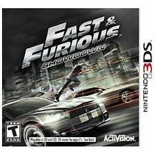 Brand New Sealed Fast & Furious: Showdown (Nintendo 3DS, 2013)