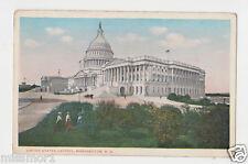 Vintage 1920s Postcard US building dome Capitol Washington DC
