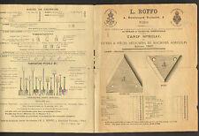 """PARIS (XI°) OUTILS & PIECES détachées de MACHINES AGRICOLES """"L. ROFFO"""" en 1882"""