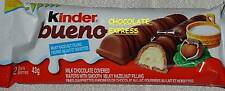KINDER BUENO FULL SIZE CHOCOLATE BARS *FRESH & FACTORY SEALED*