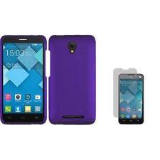 Étuis, housses et coques avec clip violet pour téléphone mobile et assistant personnel (PDA) Alcatel