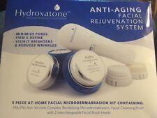 Hydroxatone Anti-Aging Facial Rejuvenation System Microdermabrasion Kit NIB LOT