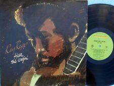 Folk Very Good (VG) Sleeve 1st Edition 33 RPM Speed Vinyl Records