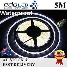5M Cool White 3528 SMD 300 LED Flexible Waterproof 12V Led Strip Lights Car Boat