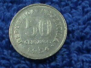 ARGENTINA   50 Centavos   1954  **