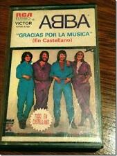 ABBA 1981 CASSETTE ARGENTINA THANK YOU FOR THE MUSIC HARD to FIND !