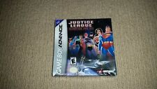Justice League Injustice For All Nintendo Gameboy Advance Game Boxed, Sealed