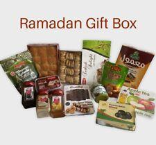 Ramadan Boîte Cadeau; date, figues, délices, Tahini, Mélasse, maamoul, kadaif et plus
