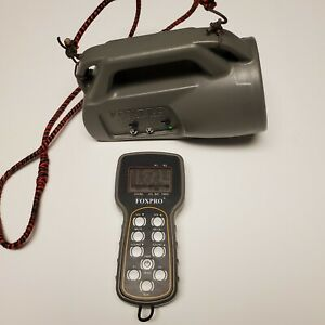 Foxpro Wildfire Electronic Predator Call Coyote/Fox Hunting TX9 Remote