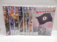 Justice League Of America JLA New 52 DC Comic Books X8 Geoff Johns David Finch