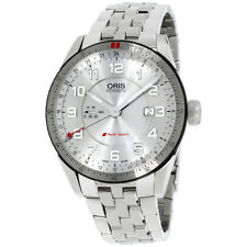 Oris Audi Sport Silver Dial Stainless Steel Men's Watch 74777014461MB