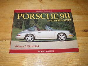 Book - Porsche 911 Collector's Guide Vol 2 1981-94