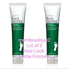 Lot of 2 AVON Footworks Healthy Intensive Callus Cream Foot Work Moisturize Feet