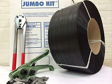 "Jumbo Strapping Kit  3/4"" x .032"" x 1000 lbs brake strength + Seals+ Tools"