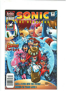 Sonic The Hedgehog #131 VF+ 8.5 Newsstand Archie Comics 2004