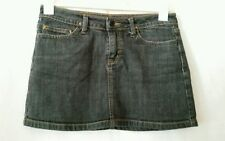 Denim Solid Petite Skirts for Women