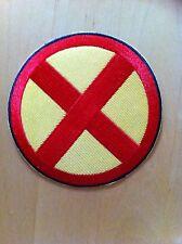 X-MEN WOLVERINE LOGO Fancy Dress Iron Sew On Patch Badge Tshirt Transfer NEW