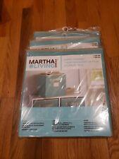 Martha Stewart Living Fabric Drawer Teal 3 New