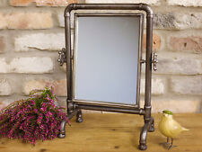 NEW INDUSTRIAL Retro Vintage Metal Pipe Dressing Table / Bathroom CHEVAL MIRROR