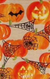 Variety-Halloween Vinyl Tablecloths Skulls,Spider,Monsters,Pumpkin,Bats Var Size