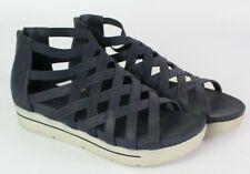 Skechers Gladiator Sandals Womens 8 Cali Strut - Sass N Swag Navy Blue platform