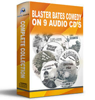 Blaster Bates complete collection Audio book CD Comedy 9 disc