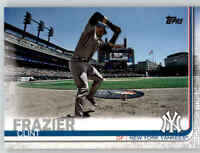 2019 Topps Series 2 SP Photo Variation #412 CLINT FRAZIER Yankees