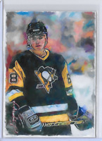 Jaromir Jagr Authentic Artist Signed Limited Edition Giclee Print Card 49 of 50