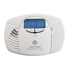 First Alert Smoke Alarm Carbon Monoxide EZ View Battery Operated included