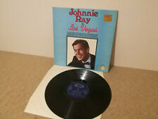 JOHNNIE RAY in Las Vegas - 12 track live performance from 1957 - Vinyl lp