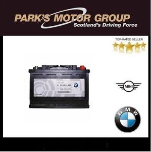 Genuine BMW 70AH AGM-Battery 1,2,3,5 Series X1,2,3,5,6 Z4. 61216805461