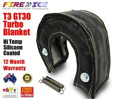 AU Black Turbo Blanket Beanie Small T3 GT28 GT28T T30 T32 T35 Heat Shield Cover