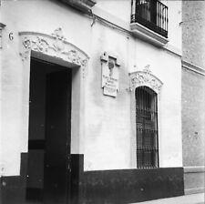 CORDOUE c. 1950 - Maison de Manolete Espagne - Négatif 6 x 6 - ESP 295