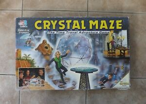 CRYSTAL MAZE Board Game 1993 - Spare Game Pieces & Parts