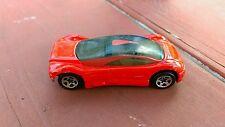 Vintage 1992 Hot Wheels Red Audi Avus Quattro Collectible Toy Car Mattel htf oop
