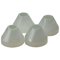 TMI Products #A880 Hold Fast 4-Pack Non-Stick Pen Mandrel Bushings
