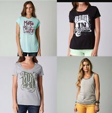 Fox Racing Women's Lot of 4 Tee Multi Styles And Colors T-shirt Size S