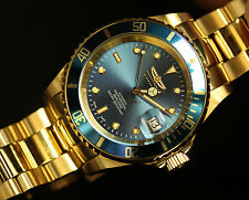 Invicta Pro Diver Swiss Made Sellita SW200 Automatic Gold Tone Bracelet Watch
