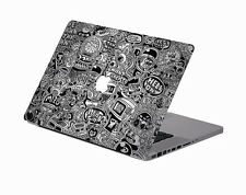 """NEW Cartoon style Macbook Pro 13"""" Vinyl Art Decal Skin Stickers Cover Protector"""