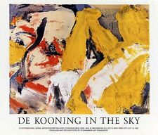 """""""In the Sky"""" by  Willem De Kooning -  Art Print - Modern - Abstract"""