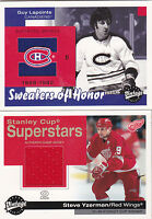 01-02 UD Vintage Guy Lapointe Jersey Sweaters Of Honor 2001 Upper Deck Canadiens