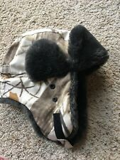 "Holster Men's Winter Russian Style Ear Flap Faux-Fur Trapper Hat 57-58cm(22.5"")"