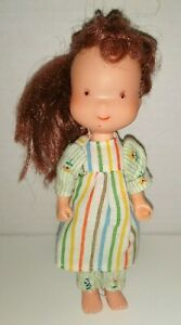 "Vintage Holly Hobbie 1976 6"" Vinyl Doll By KTC Jointed Body"