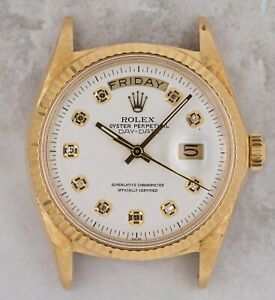 Vintage Rolex Day-Date President Wristwatch Ref. 1803 18kt Yellow Gold AS-IS NR