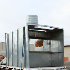 Double sided open face Spray Booth ADELAIDE 1.1kw Fan 2.3 x 2.1 x 3m Ex e motor
